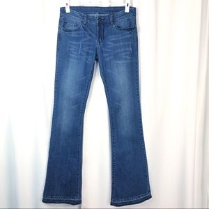 Blank NYC Woman's 27 Flare Let Out Hem Jeans